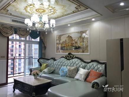 兴龙湖畔,新重百商圈,华茂国际欧式精装正中三房急售